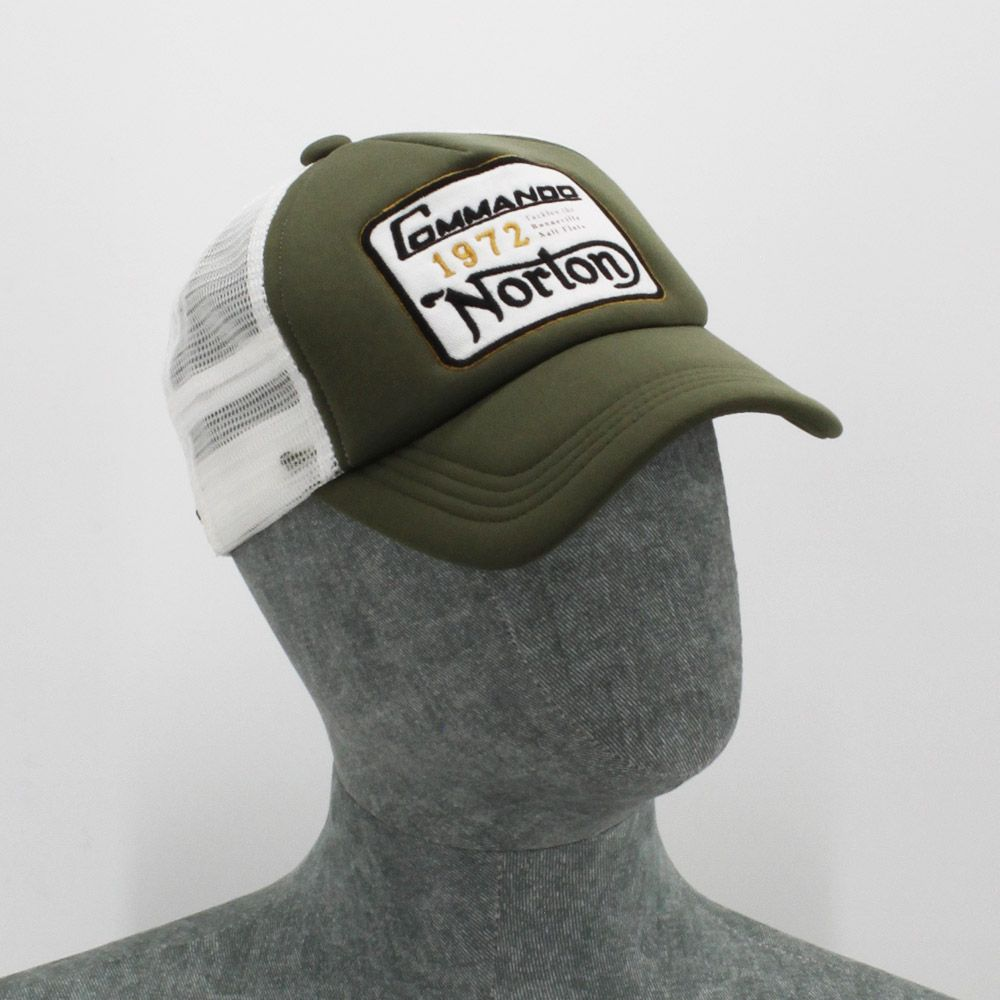 Gorra Norton Trucker Denis Stone Green