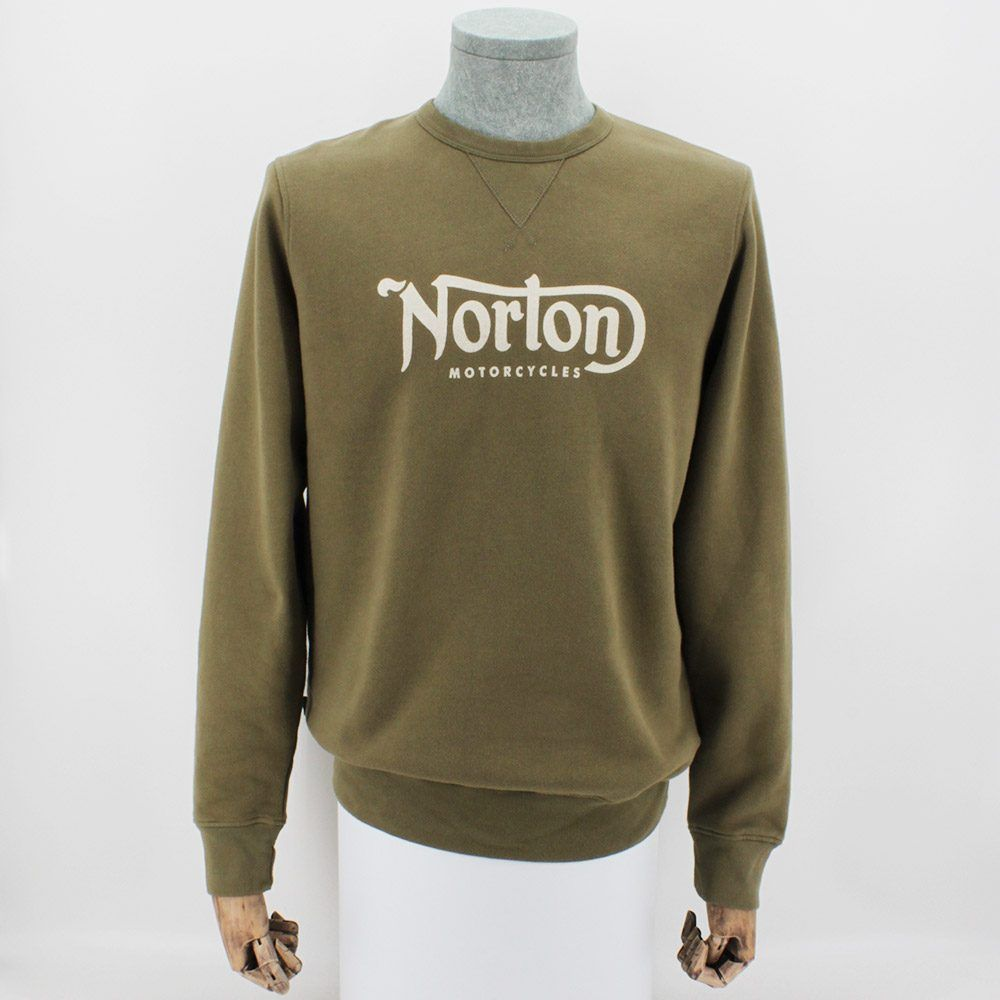 Sudadera Norton Fastback Green