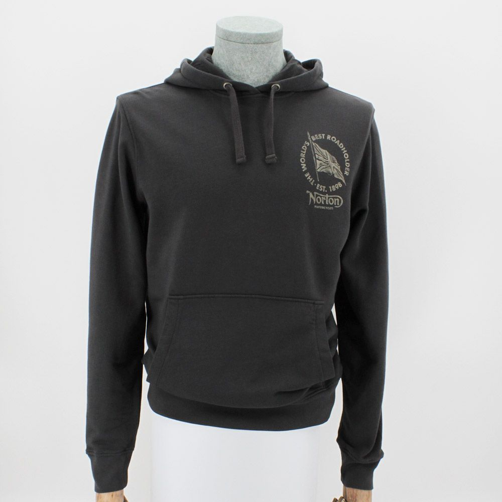 Sudadera Norton Kurt Washed Black