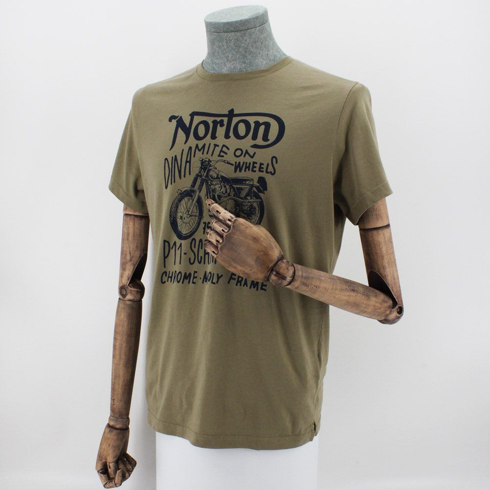 Camiseta Norton Darby Laurel Green