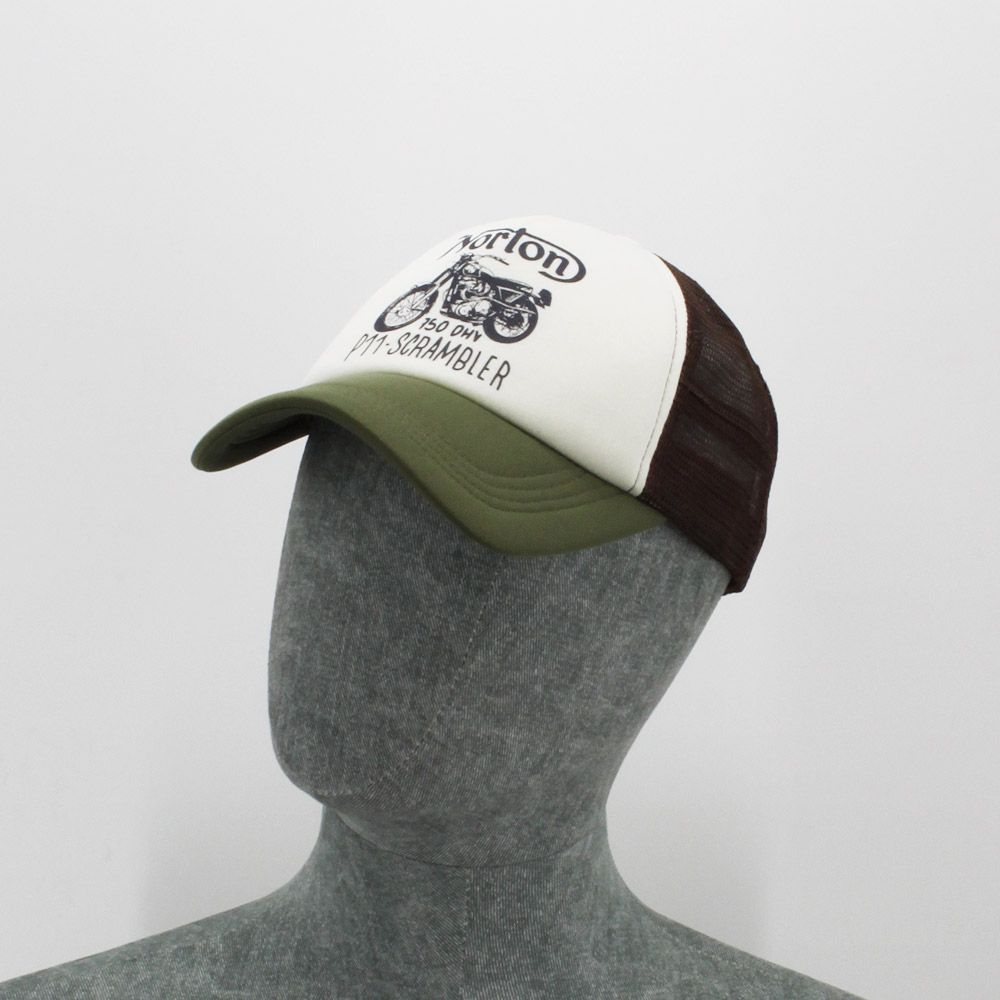 Gorra Norton Trucker Hugo Laurel Green