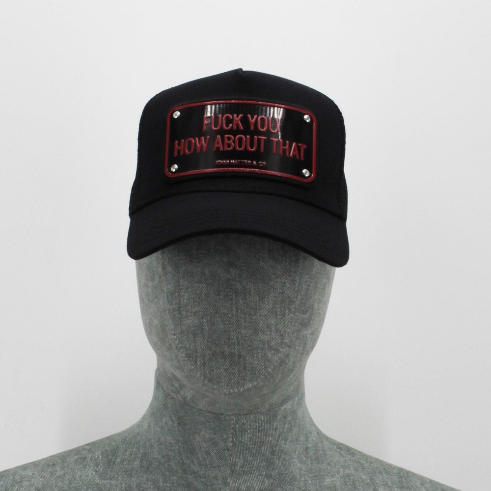 Gorra John Hatter & Co 'Fuck You How About That'