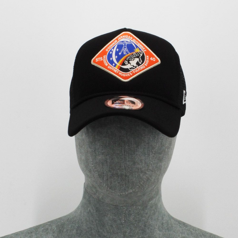 Gorra New Era Trucker Black Nasa O´Connor