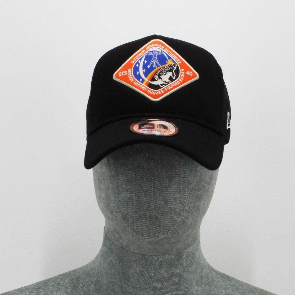 Gorra New Era Trucker Black Nasa O´Connor