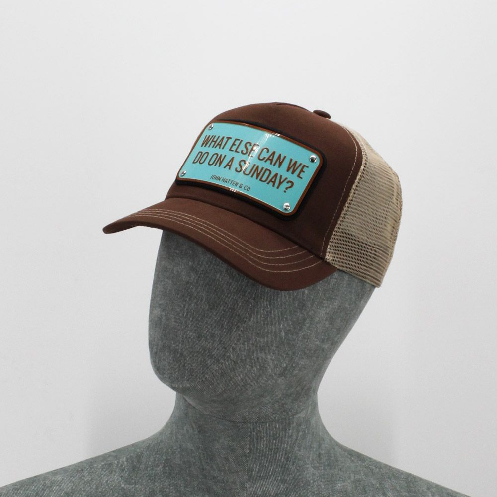 Gorra John Hatter & Co 'What Else Can We Do On A Sunday?'
