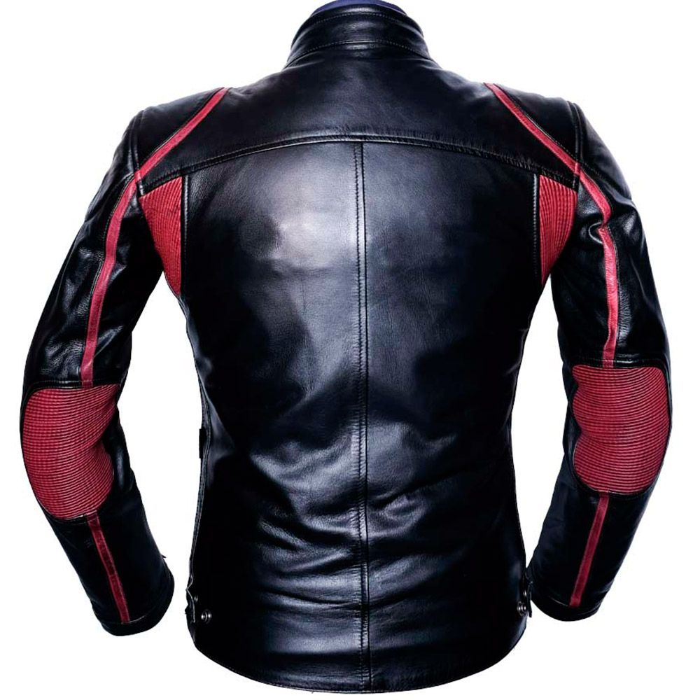 Chaqueta Lemans Black/Red