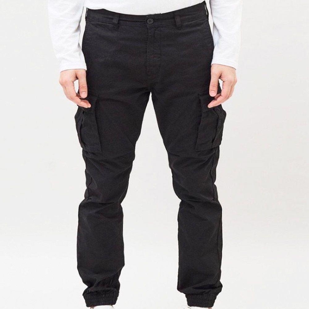 DrDenim Pantalón Cargo Black