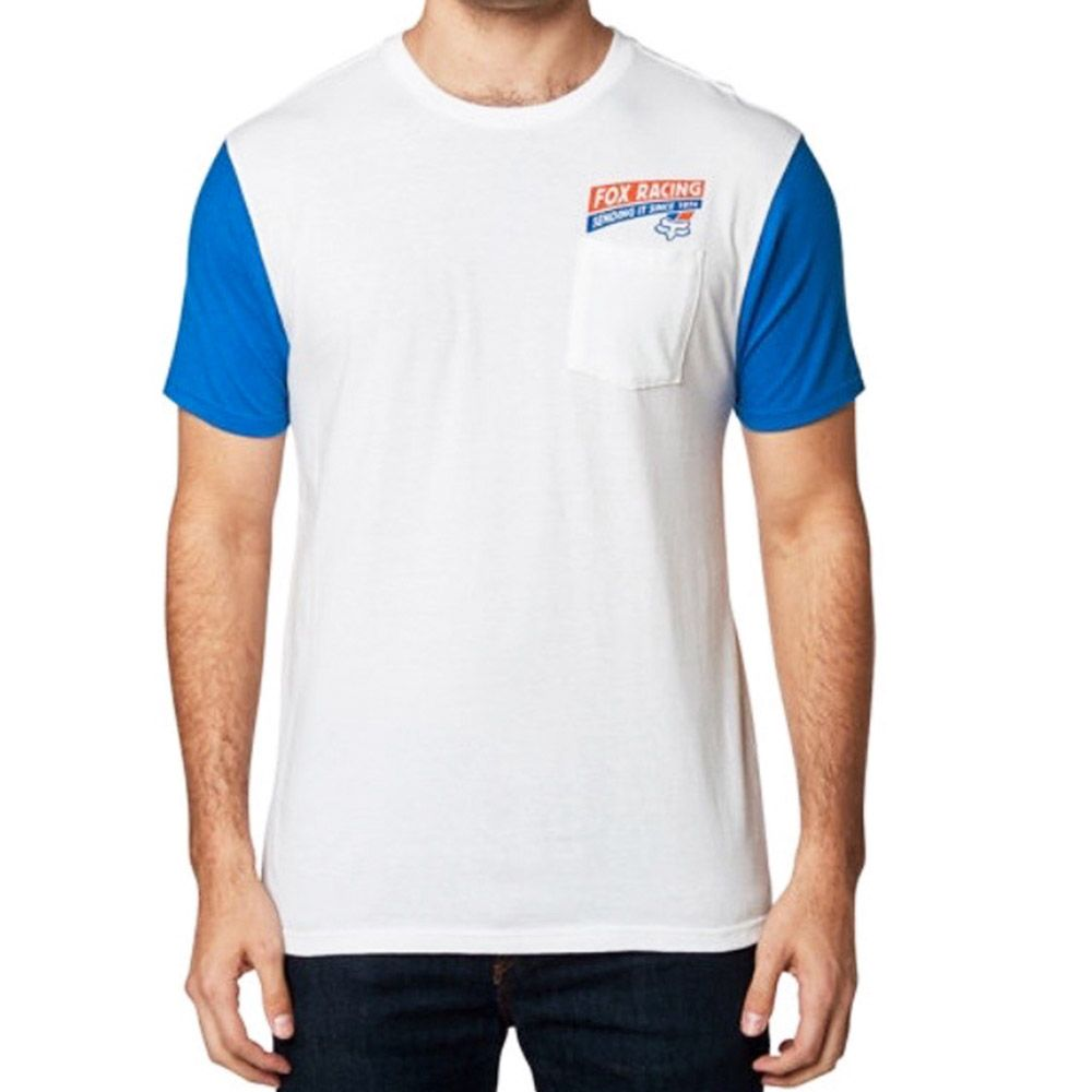 Fox Camiseta Sending It White/Blue