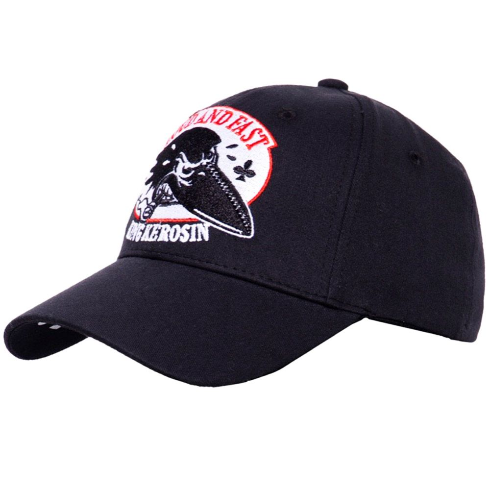 King Kerosin Gorra Loud And Fast Black