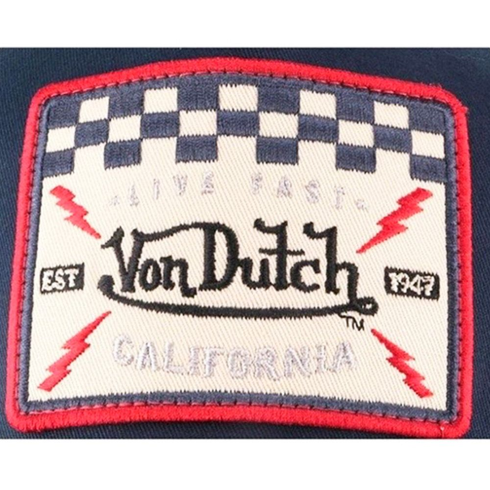 Von Dutch Gorra Square 16 Blue/Red