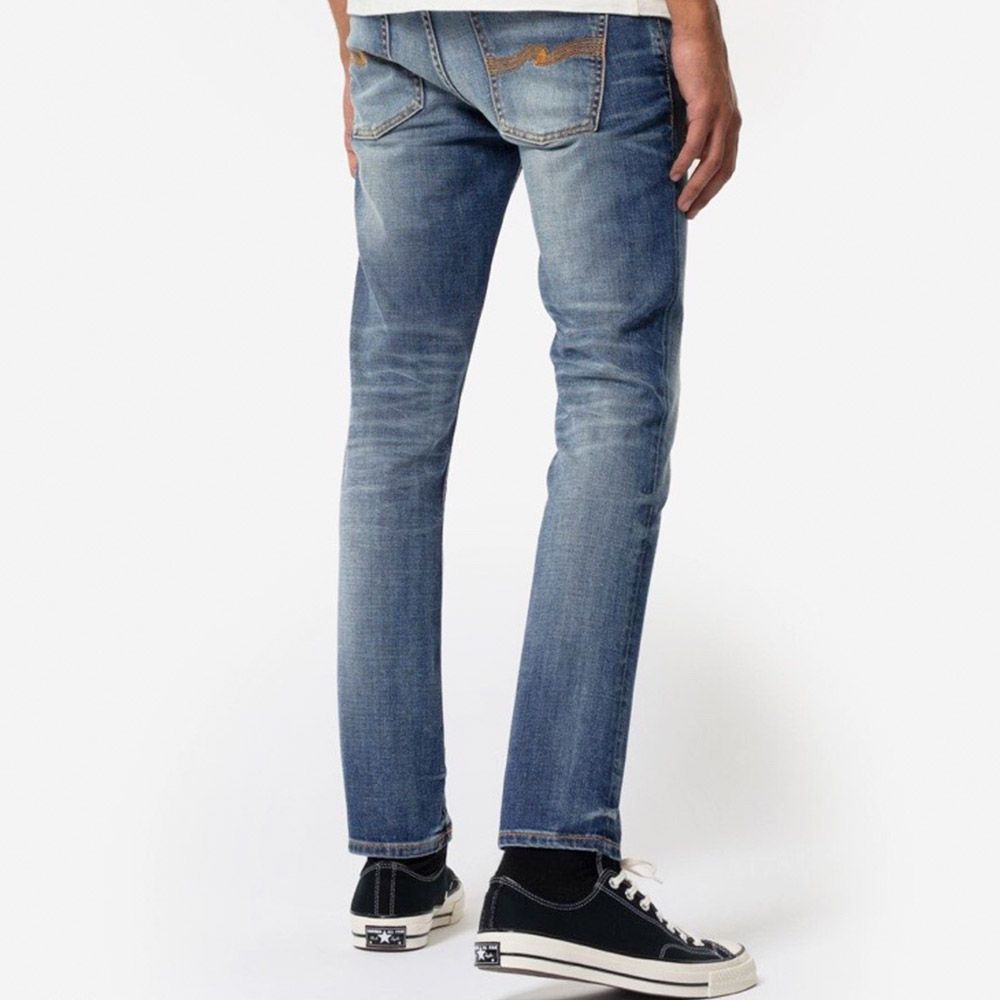 Nudie Jeans GrimTim Worn Broken