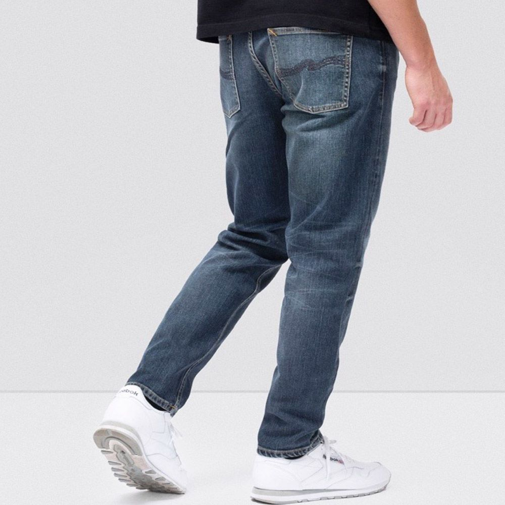 Nudie Jeans Vaquero Steady Indigo Shades