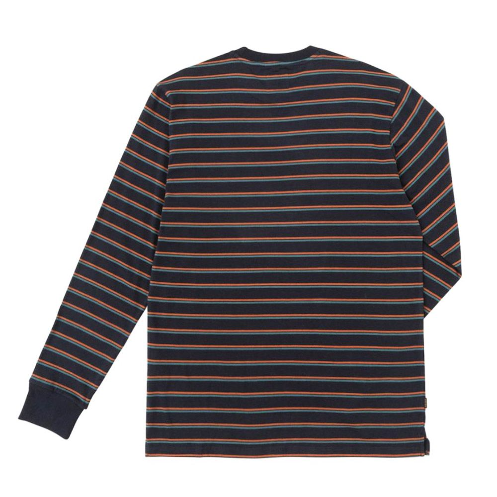 Dark Seas Camiseta Glenneire Navy/Rust