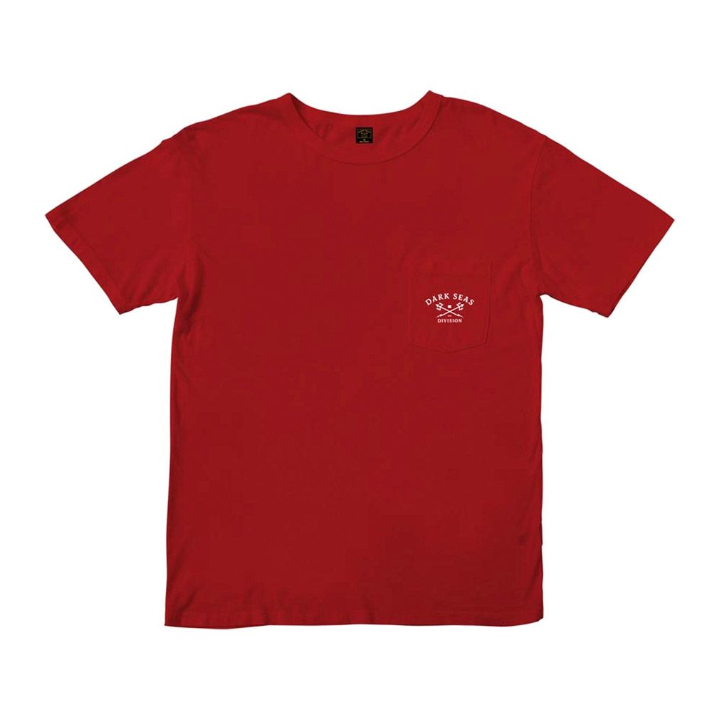Dark Seas Camiseta Newport Red