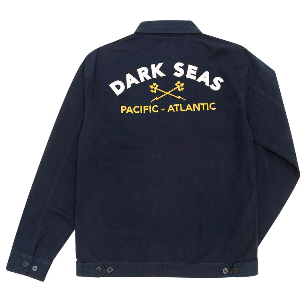Dark Seas Chaqueta Teamster Navy