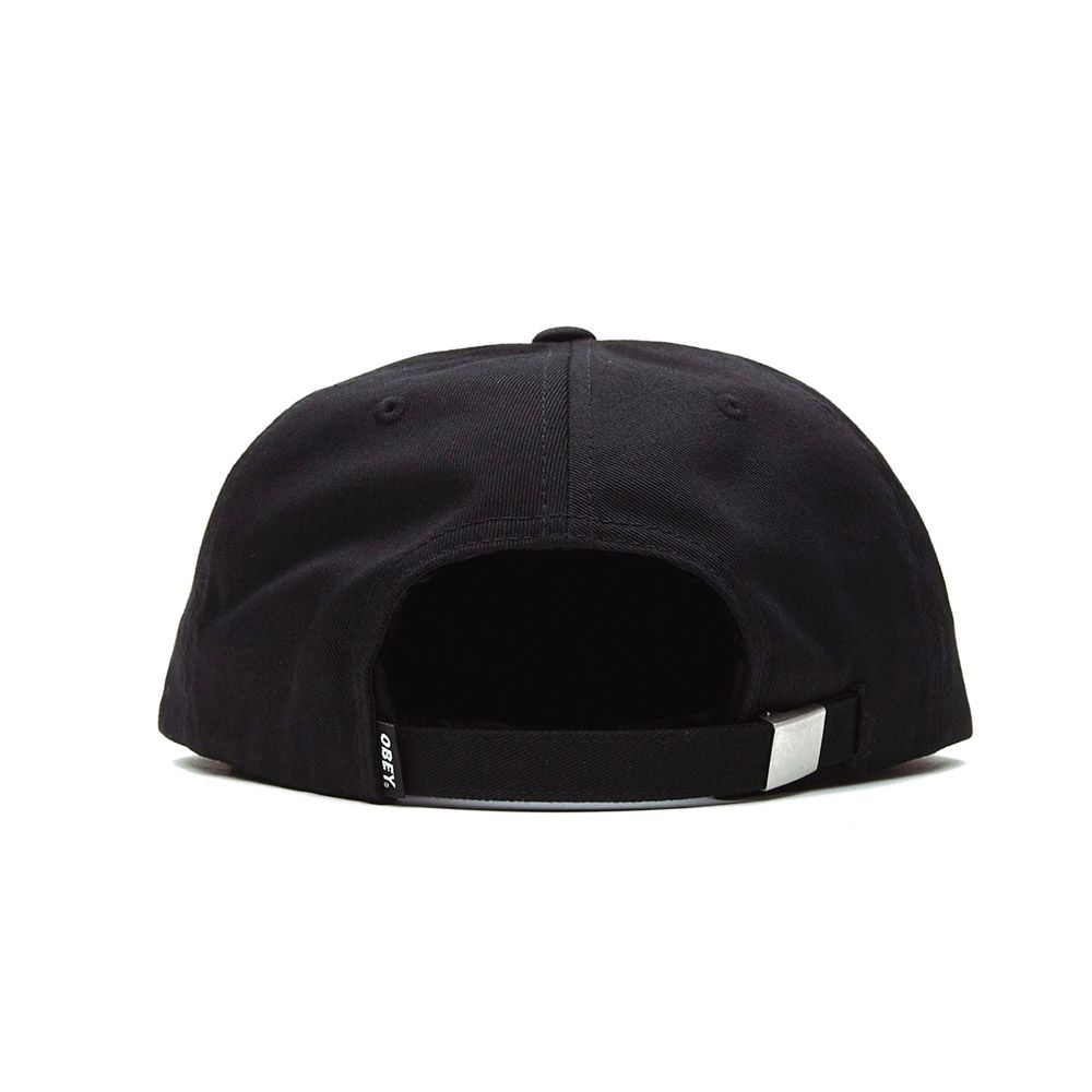obey Icon Eyes Strapback Black