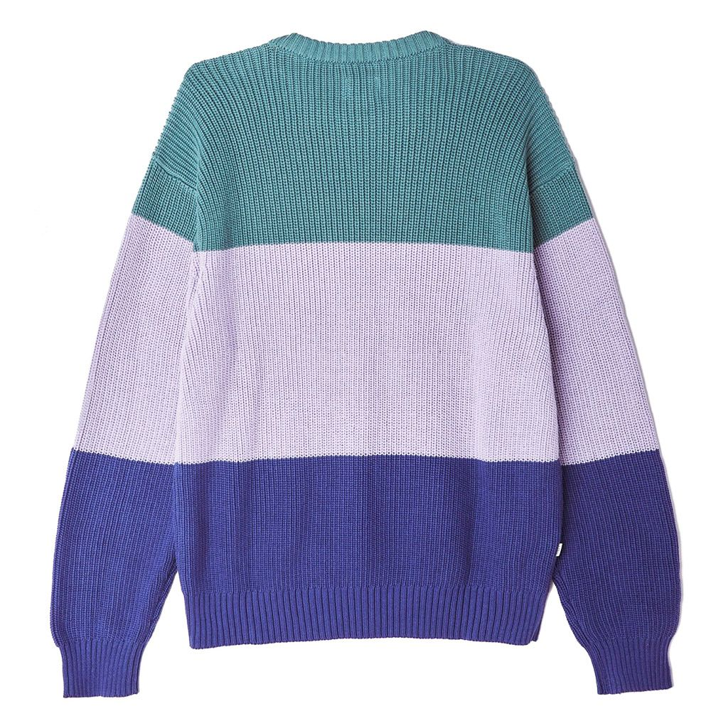 Obey Joni Sweater Oil Blue Multi