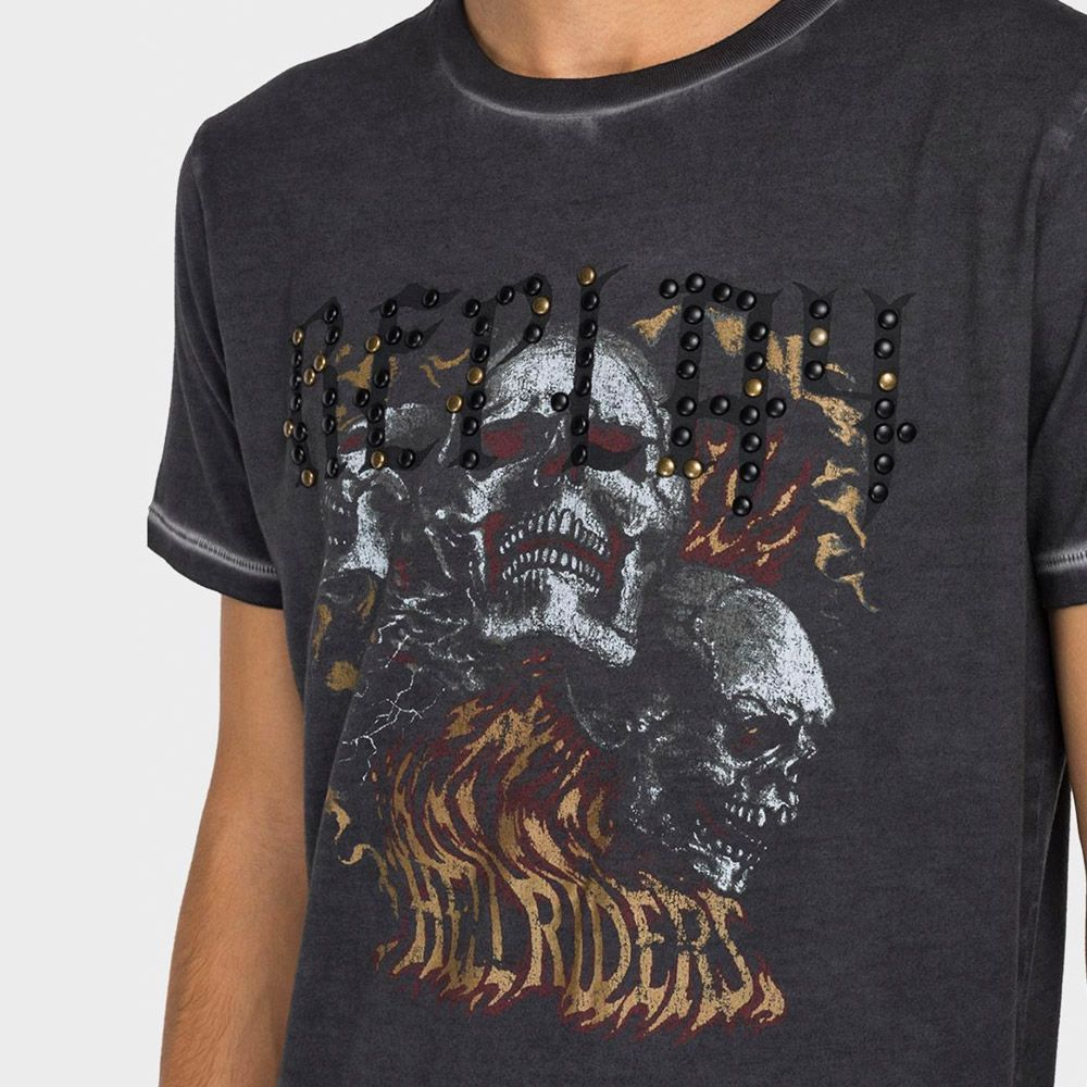 Replay Camiseta Hell Riders
