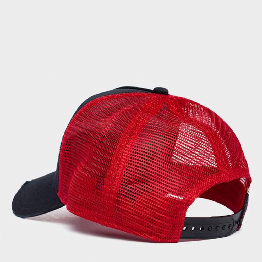 Replay Gorra Trucker Black/Red
